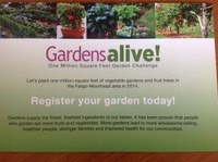 Gardensalive! One Million Square Feet Garden Challenge