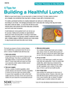 Building a Healthful Lunch