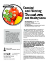 Canning and Freezing Tomatoes