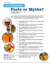 Food Preservation Facts or Myths?