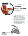 Jams and Jellies from Native Fruits