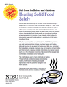 Heating Solid Food Safely