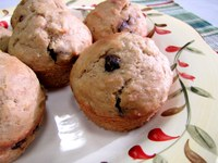 Chocolate Chip Bean Muffins