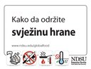 Keep Your Food Safe (Bosnian)