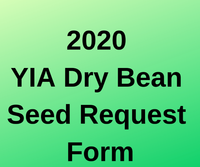 2020 dry bean seed form