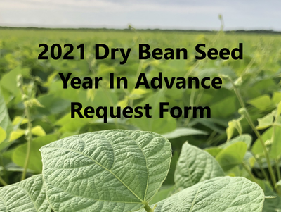2021 YIA Dry Bean Seed Request Form