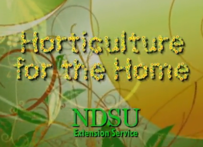 Horticulture for the Home Title Screen