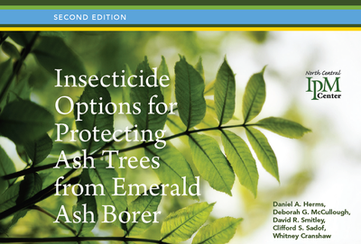 Insecticide options for protecting trees from Emerald Ash Borer, 2nd edition
