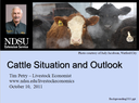 Cattle Situation and Outlook Fall 2011