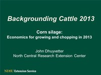 Cattle Situation and Outlook Fall 2012