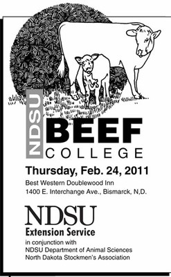 2010 Beef College