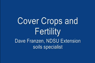Cover Crops and Fertility