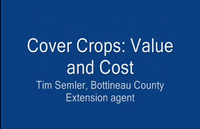 Cover Crops: Value and Cost