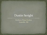 Dustin Seright - Title Slide