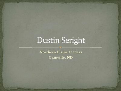 Dustin Seright - Title Slide