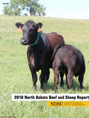 2018 NDSU Beef and Sheep Report