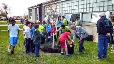 2014 Arbor Day in Cando ND
