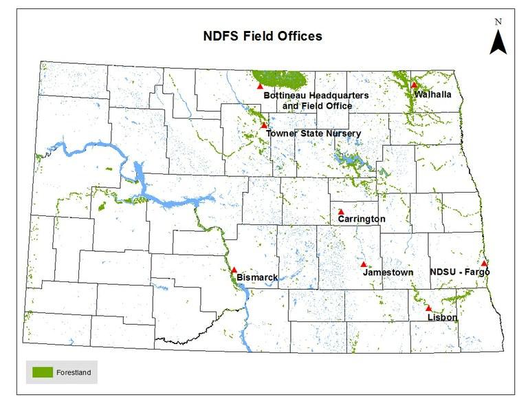 NDFS Field Office Locations