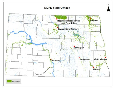 NDFS Field Offices