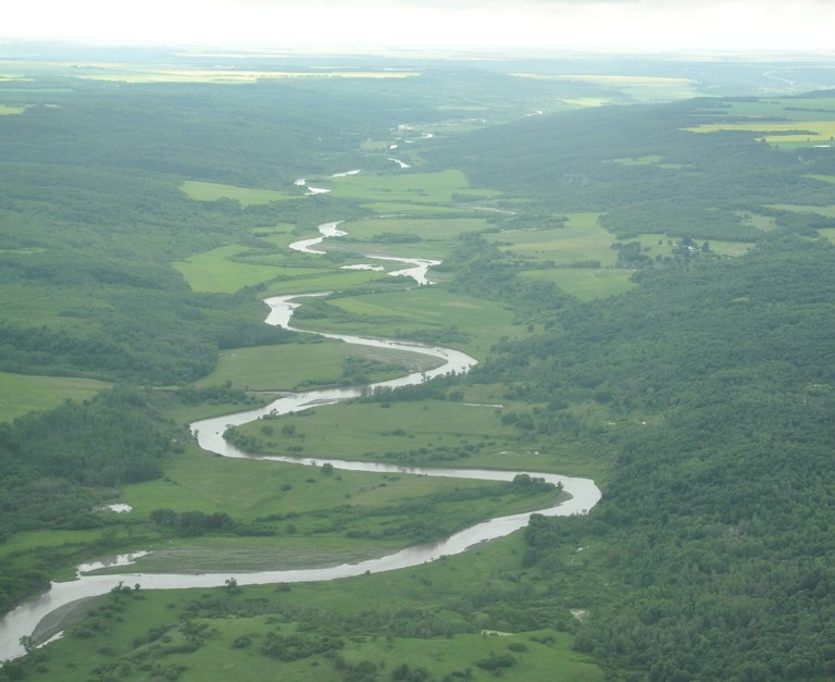 Pembina Gorge and River