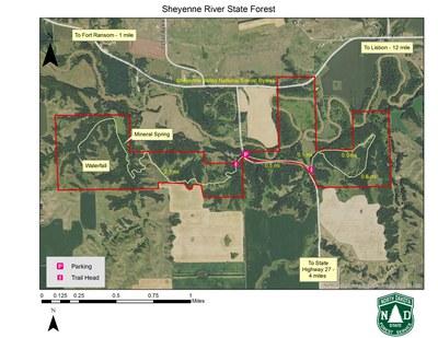 Sheyenne Map 2019