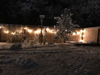 Adding outdoor lights might entice you to spend more time enjoying your outdoor space this summer and into the fall. (NDSU photo)