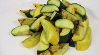 Try some grilled zucchini and squash as a side dish for summertime meals. (NDSU photo)