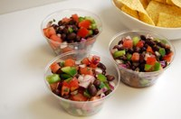 This colorful, easy-to-make salsa is great for summer time. (NDSU Photo)