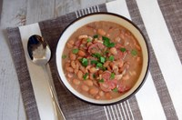 Here's a traditional and delicious Brazilian recipe with beans. (NDSU photo)