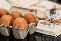 Egg yolks are among the few foods that naturally contain vitamin D, which we need to help us absorb calcium and maintain healthy bones. (Photo courtesy of Pixabay)