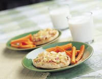 This recipe features tuna, which is rich in vitamin D. (Photo courtesy of Midwest Dairy Association)