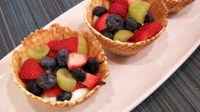 This tasty recipe is made with seasonal fruit. (NDSU photo)