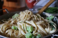 If leftovers don't sound appetizing, turn remaining food into something new, such as a pasta dish. (Photo courtesy of forstefany/Pixabay)