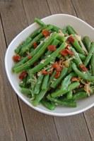 This recipe offers a tasty twist on green bean casserole. (NDSU photo)