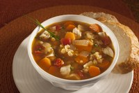 Red Lentil Soup is one way to get more pulse foods into your diet. (NDSU photo)