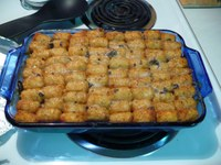 You can find many variations of a Tater Tot hotdish in cookbooks and online recipe sites. Photo by Entitee.