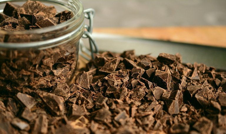 Chocolate has a long history dating back to about 460 A.D. (Photo courtesy of congerdesign/ Pixabay)