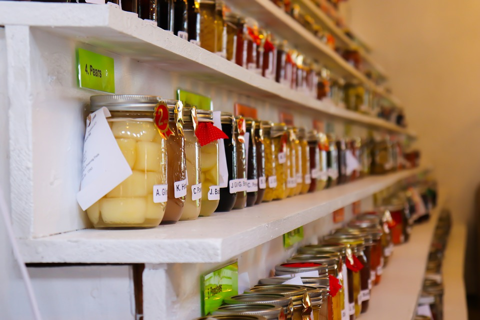 Be sure to follow research-based recipes when preserving food at home. (Photo courtesy of Pixabay)