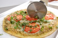 This pizza will help you get some colorful vegetables into your diet. (NDSU photo)