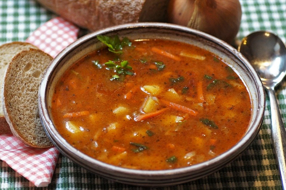Try making soup or stew from ingredients you have on hand. (Photo courtesy of Pixabay)