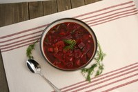 Borscht is a soup that includes beets and other vegetables. (NDSU photo)