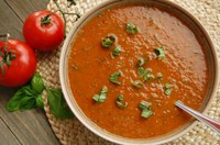 This lycopene-rich recipe features oven-roasted tomatoes and canned fire-roasted tomatoes. (NDSU photo)