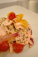 This salmon recipe can help you meet the recommendations for fish and seafood. (NDSU photo)