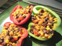 This recipe features black beans and vitamin C-rich peppers. (NDSU photo)