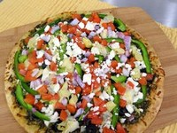 Soon we will be able to grow a lot of the toppings for this pesto pizza recipe. (NDSU photo)