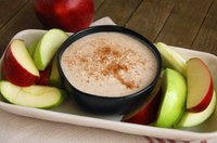 This honey yogurt fruit dip recipe features foods with immune-boosting effects. (NDSU photo)