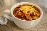 This one-dish meal includes beans, which are rich in fiber, protein, folate and other vitamins. (NDSU photo)