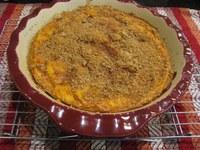 Pumpkin is rich in fiber, and this recipe has fewer calories than pumpkin pie. (NDSU photo)