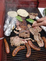 Most people enjoy the delicious aroma of grilling food cooked in the relaxed outdoor atmosphere.