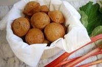 You can use rhubarb to make sauce, jam, crisp, muffins and pie. (NDSU photo)